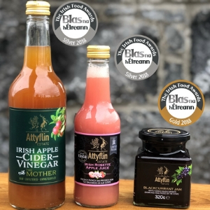 Attyflin Estate wins four awards in the Blas na hÉireann Irish Food Awards 2018